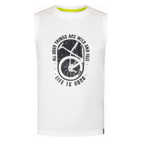 Loap BALOR white - Boys' tank top