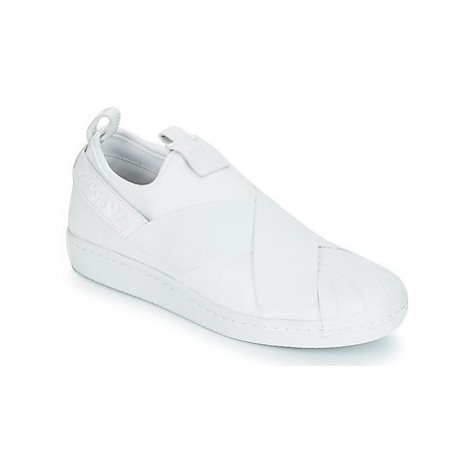 Adidas SUPERSTAR SlipOn men's Shoes (Trainers) in White