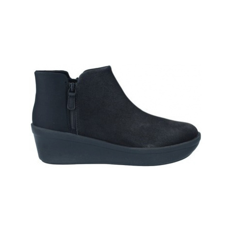 Clarks Step Rose Up Botines Casual de Mujer women's Low Ankle Boots in Black