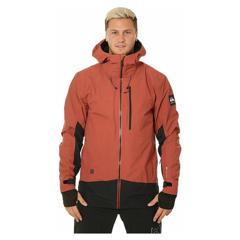 jacket Quiksilver Forever 2L Gore-Tex - RQJ0/Barn Red - men´s
