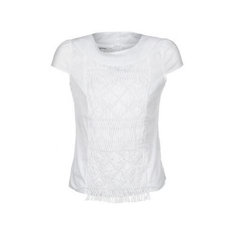 Alba Moda BLUSENTOP women's T shirt in White