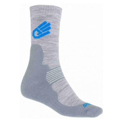 Grey women's thermal socks