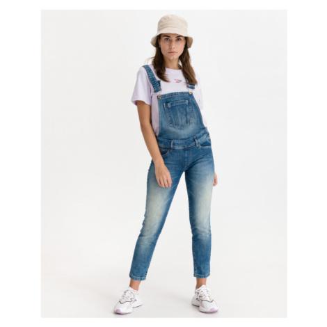 Salsa Jeans Wonder Push Up Jeans with braces Blue