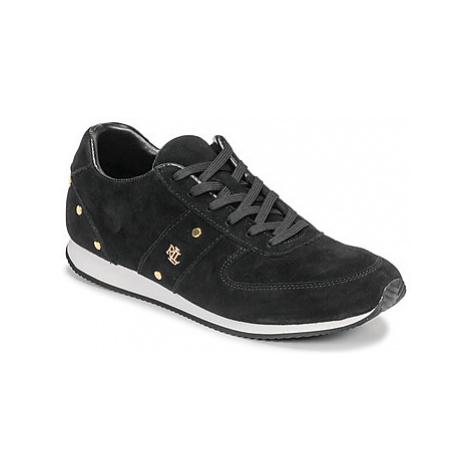 Lauren Ralph Lauren CANONBURY-SNEAKERS-ATHLETIC SHOE women's Shoes (Trainers) in Black