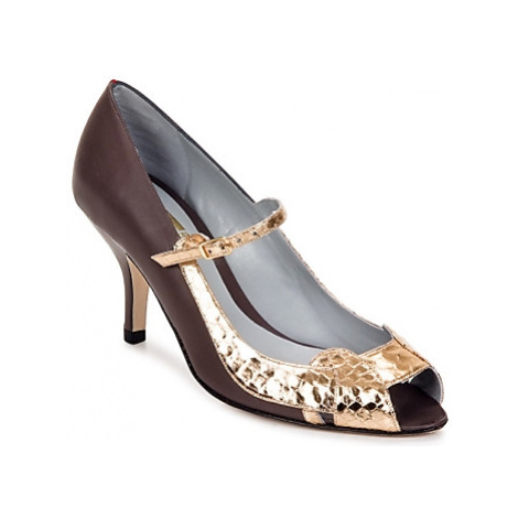 Fred Marzo MADO BAB'S women's Court Shoes in Gold