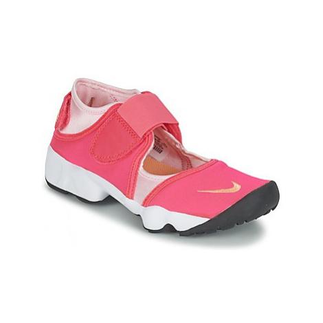 Nike AIR RIFT JUNIOR girls's Children's Sandals in Pink