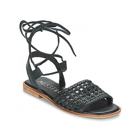 Musse Cloud IGGY women's Sandals in Black Musse & Cloud