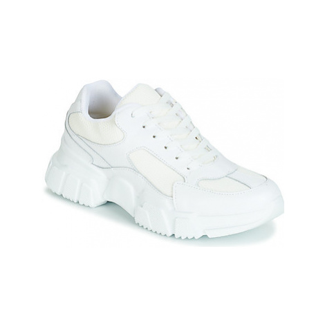 Yurban JILIBELLE women's Shoes (Trainers) in White