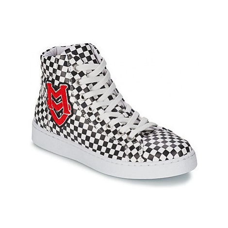 Love Moschino JA15043G1KIF000A women's Shoes (High-top Trainers) in White