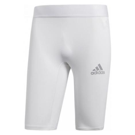 adidas ALPHASKIN SPORT SHORT TIGHTS M white - Men's underwear