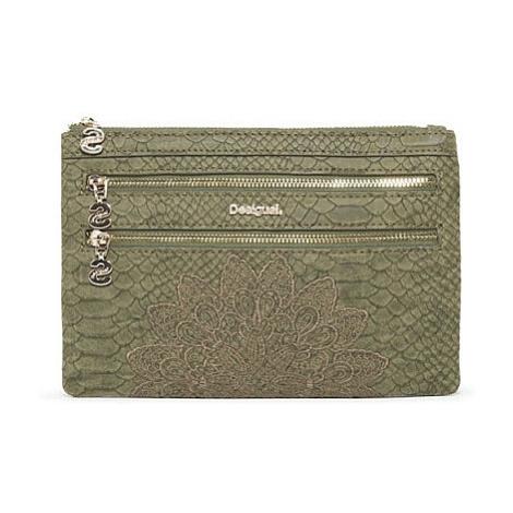 wallet Desigual 18WAYP24/Aquiles Multi Zip - 4092/Kaki - women´s