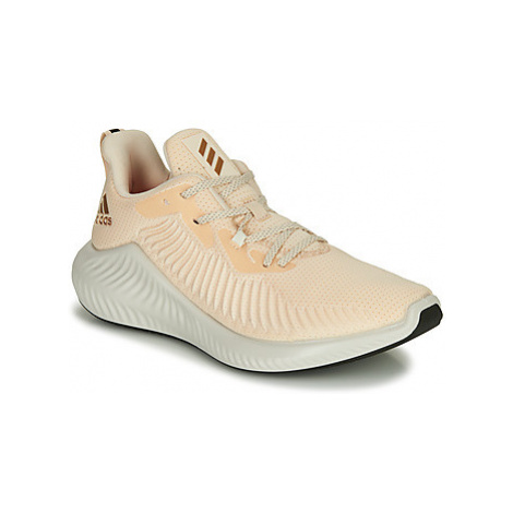 Adidas ALPHABOUNCE+ W women's Shoes (Trainers) in Beige