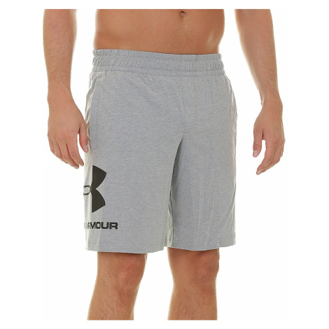 shorts Under Armour Sportstyle Cotton Graphic - 035/Gray - men´s