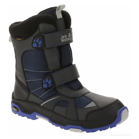 shoes Jack Wolfskin Polar Bear Texapore - Vibrant Blue - boy´s