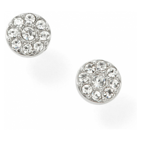 Fossil Women Disc Silver-Tone Studs - One size