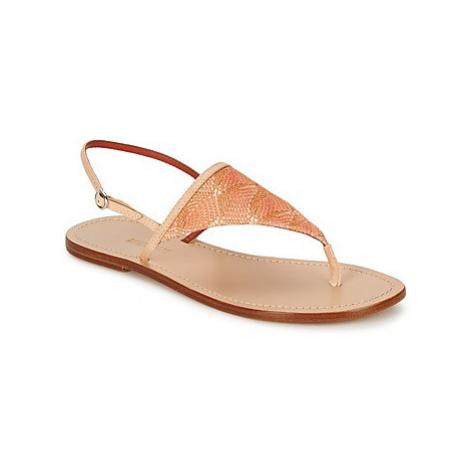 Missoni XM032 women's Sandals in Gold