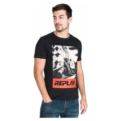 Replay T-shirt Black