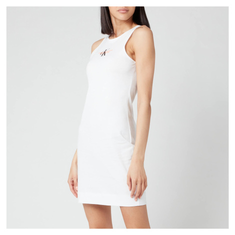 Calvin Klein Jeans Women's Urban Logo Tank Dress - Bright White