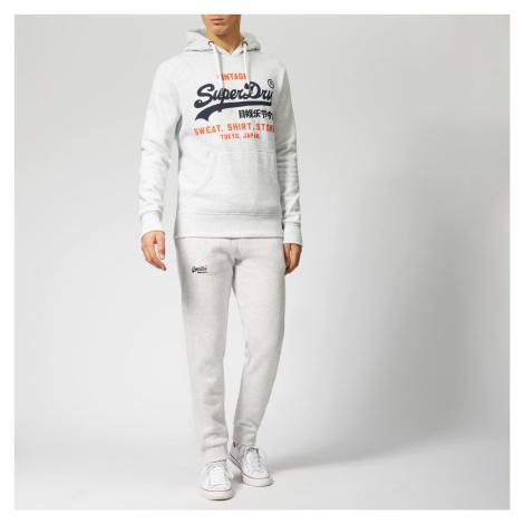 Superdry Men's Sweatshirt Shop Duo Hoody - Ice Marl