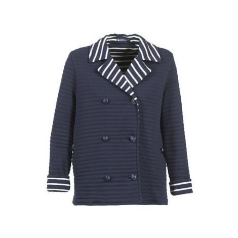 Petit Bateau RODUNE women's Coat in Blue