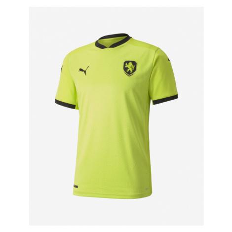 Puma Czech Republic Away Replica T-shirt Yellow