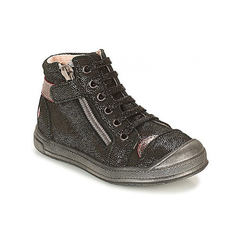 GBB DESTINY girls's Children's Shoes (High-top Trainers) in Black