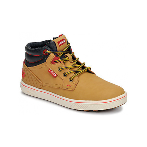 Levis NEW PORTLAND boys's Children's Shoes (High-top Trainers) in Brown Levi´s