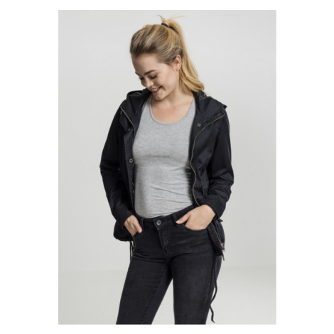 Urban Classics Ladies Basic Cotton Parka black