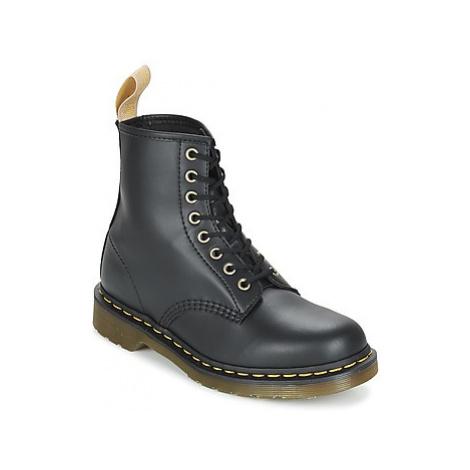 Dr Martens VEGAN 1460 women's Mid Boots in Black