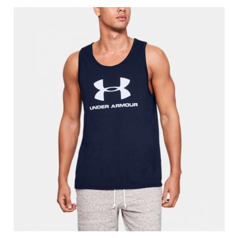 Men's UA Sportstyle Logo Tank Under Armour