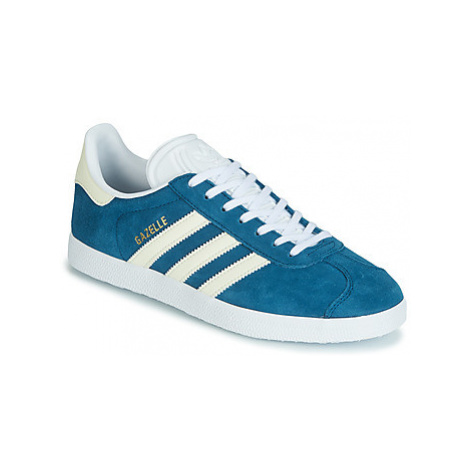 Adidas GAZELLE W women's Shoes (Trainers) in Blue
