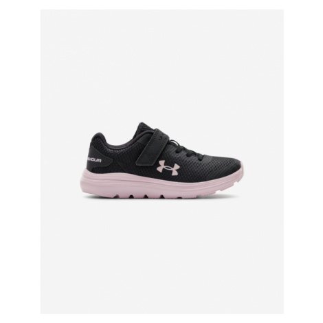 Under Armour Pre-School UA Surge 2 AC Running Kids Sneakers Black Pink