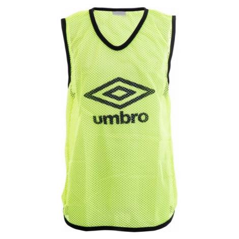 Umbro MESH TRAINING BIB - 60X46CM - Kids yellow - Kids' training jersey