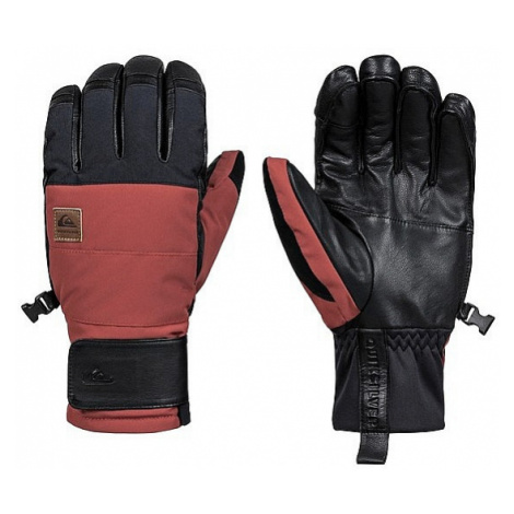 glove Quiksilver Squad - RQJ0/Barn Red - men´s