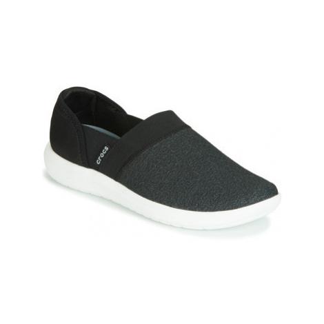 Crocs CROCS REVIVA SLIPON W women's Slip-ons (Shoes) in Black