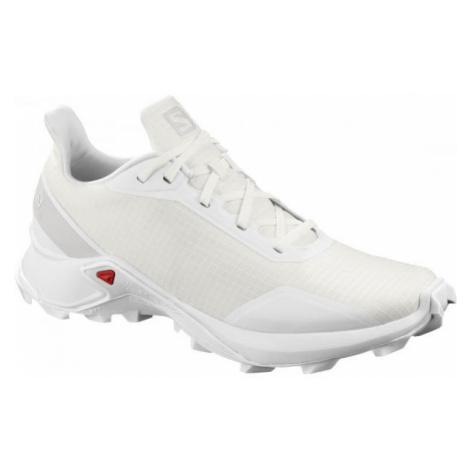 Salomon ALPHACROSS W white - Women's running shoes