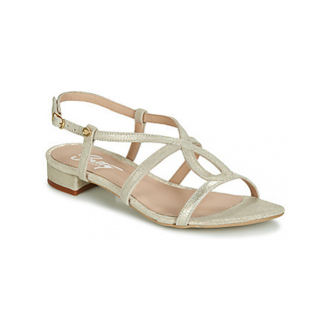 Betty London SIGUELLE women's Sandals in Gold