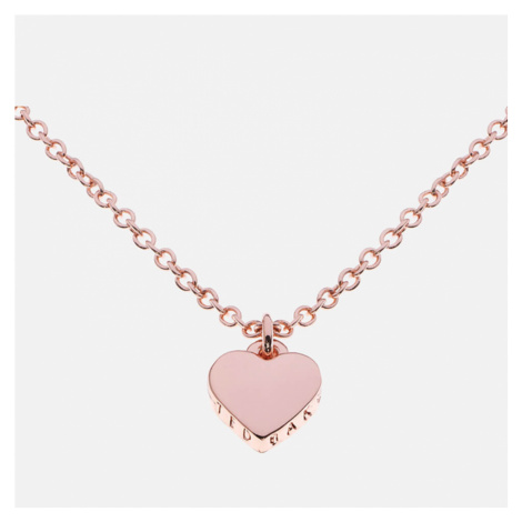 Ted Baker Women's Hara Tiny Heart Pendant Necklace - Rose Gold - Rose Gold