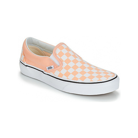 Pink women's slip-on shoes
