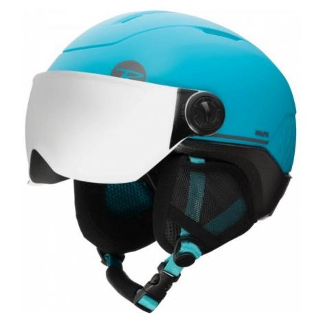 Rossignol WHOOPEE VISOR IMPACTS blue - Kids' ski helmet