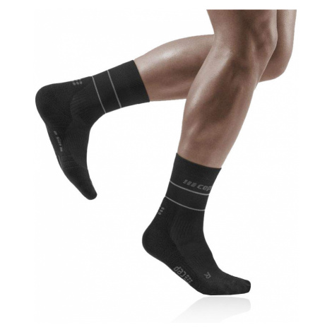 CEP Reflective Compression Mid Cut Socks - SS21