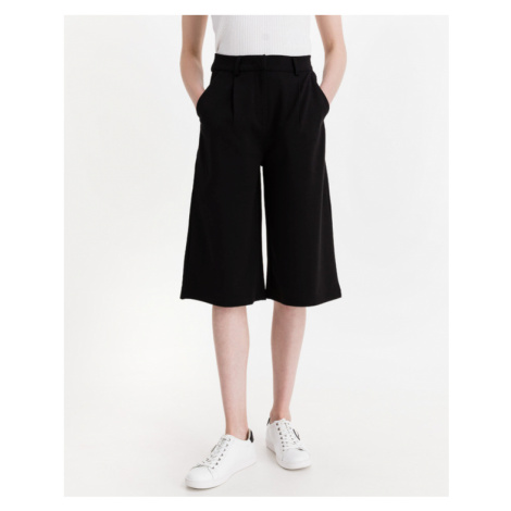 ICHI Kate Trend Coulotte Shorts Black