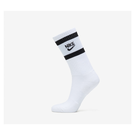 Nike Heritage 2 Pair Crew Socks White/ Black
