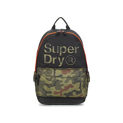 Superdry DOUBLE CAMO MONTANA men's Backpack in multicolour
