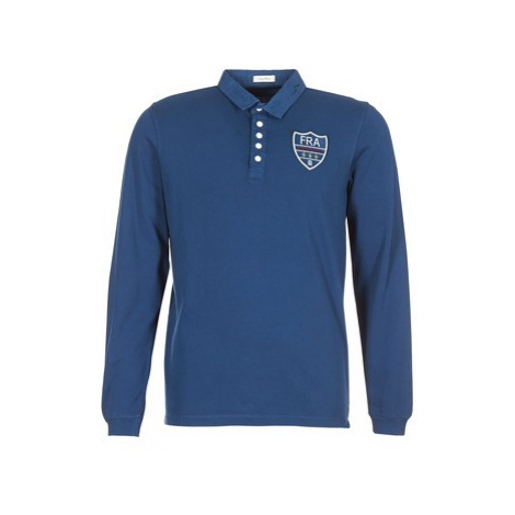 Serge Blanco POLO France men's Polo shirt in Blue