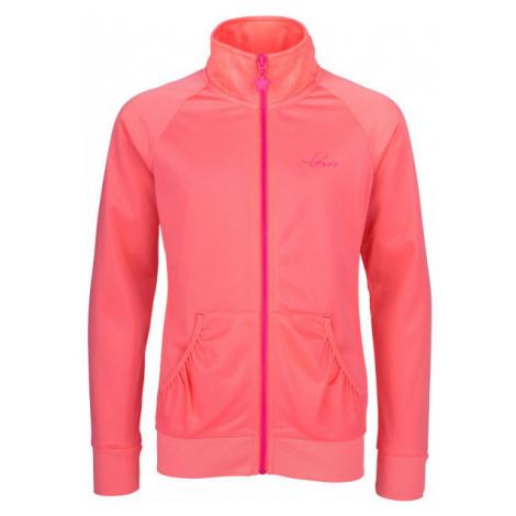 Lewro SOLEDAT orange - Girls' sweatshirt