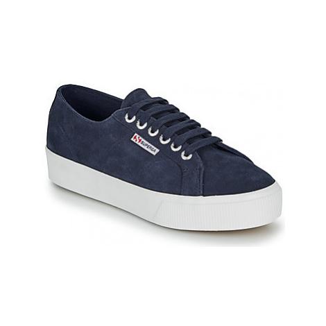Superga 2730 SUEU women's Shoes (Trainers) in Blue