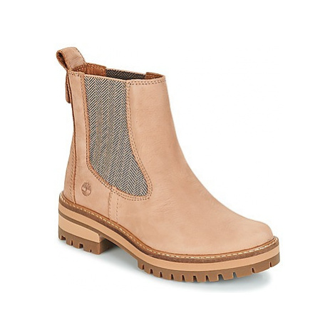 Timberland Courmayeur Valley Chelsea women's Mid Boots in Pink