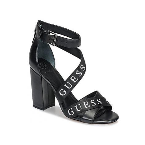 Guess KORRA2 women's Sandals in Black
