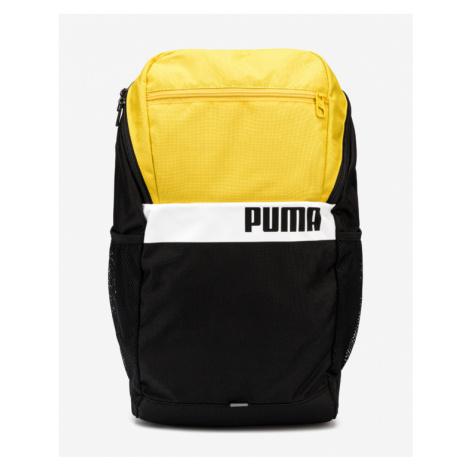 Puma Backpack Black Yellow